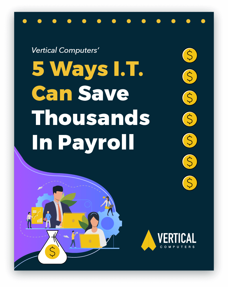 PDF with five ways I.T. can save thousands in Payrom